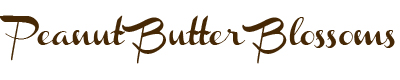 Peanut Butter Blossoms Title