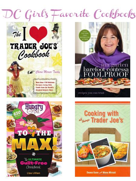 DC Girl's Favorite Cookbooks