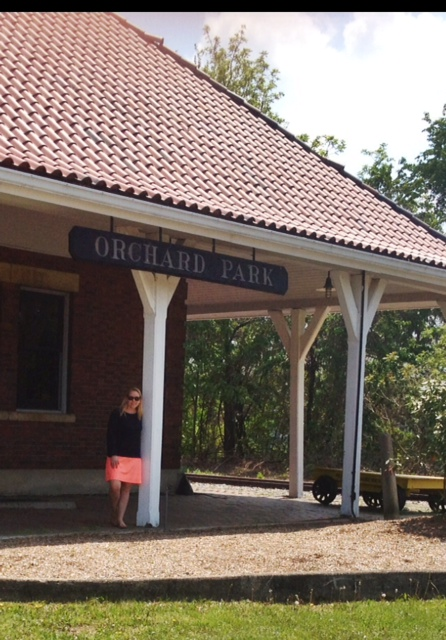 Orchard Park Sign