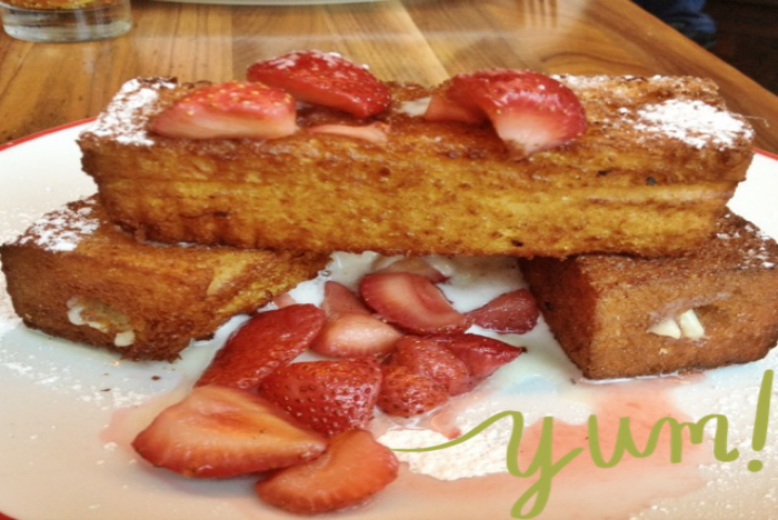 Founding Farmers Stuffed French Toast