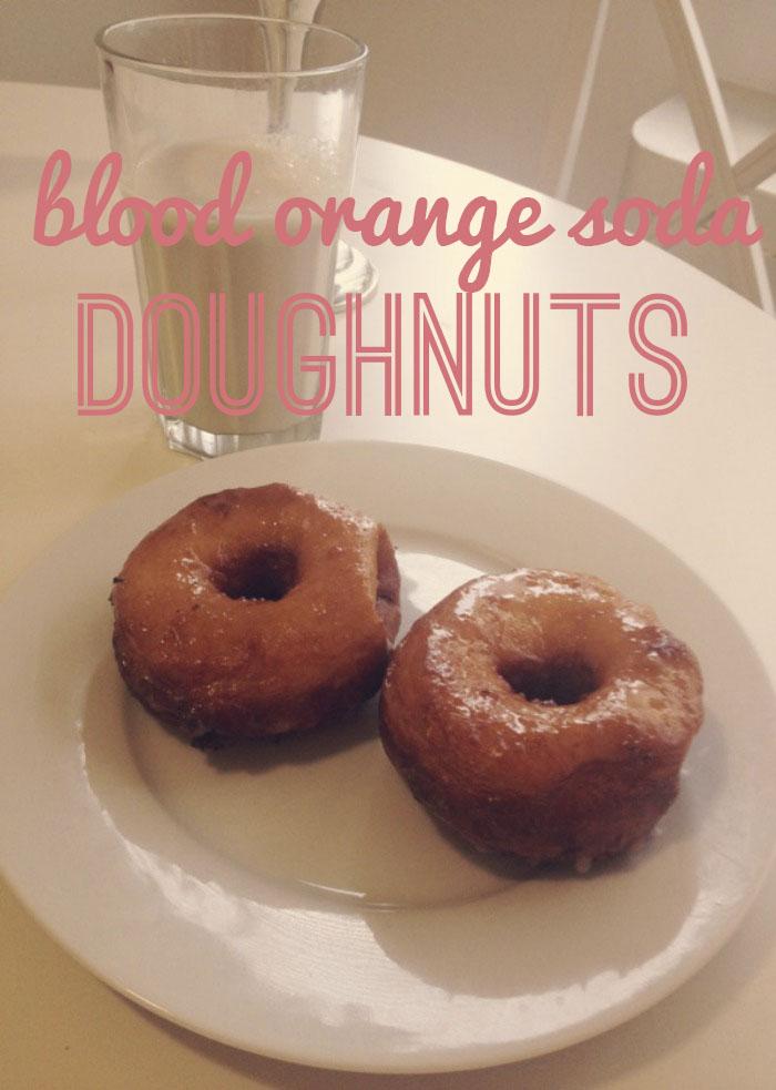 Blood Orange Doughnuts Title