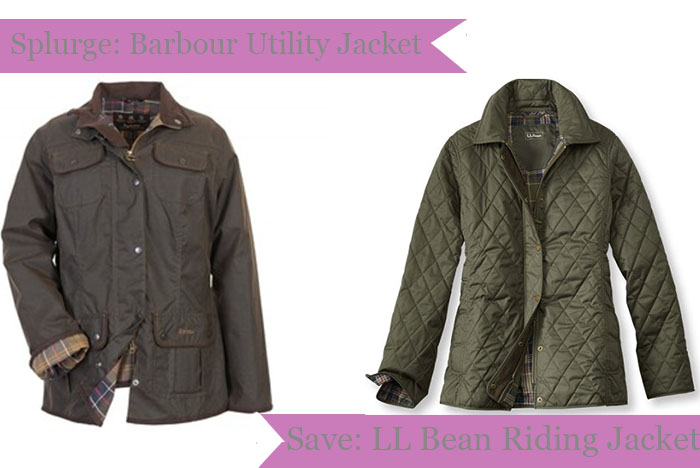 Splurge Save Fall Jacket