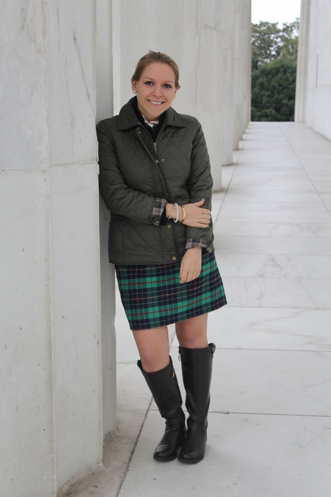 DC Girl in Pearls | mad about plaid