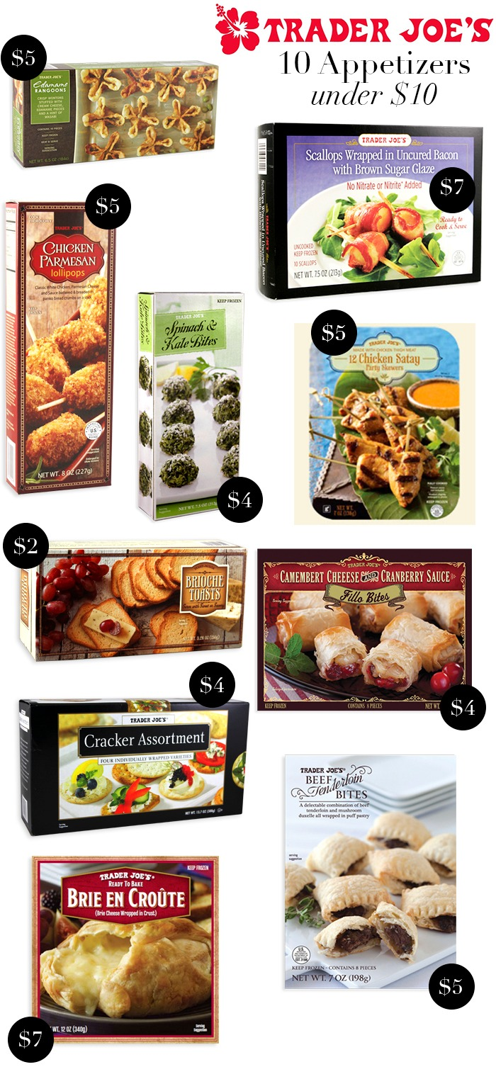 10 Trader Joe's Appetizers under $10