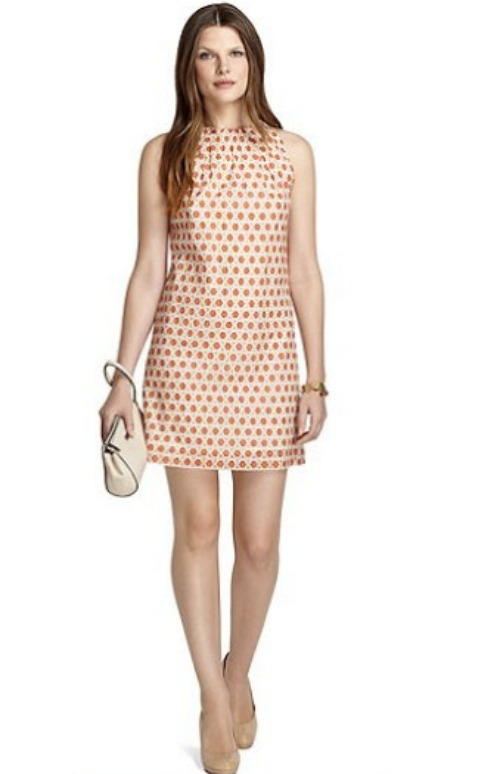 Dress for the Derby - Brooks Brothers Halter Geo Print Dress