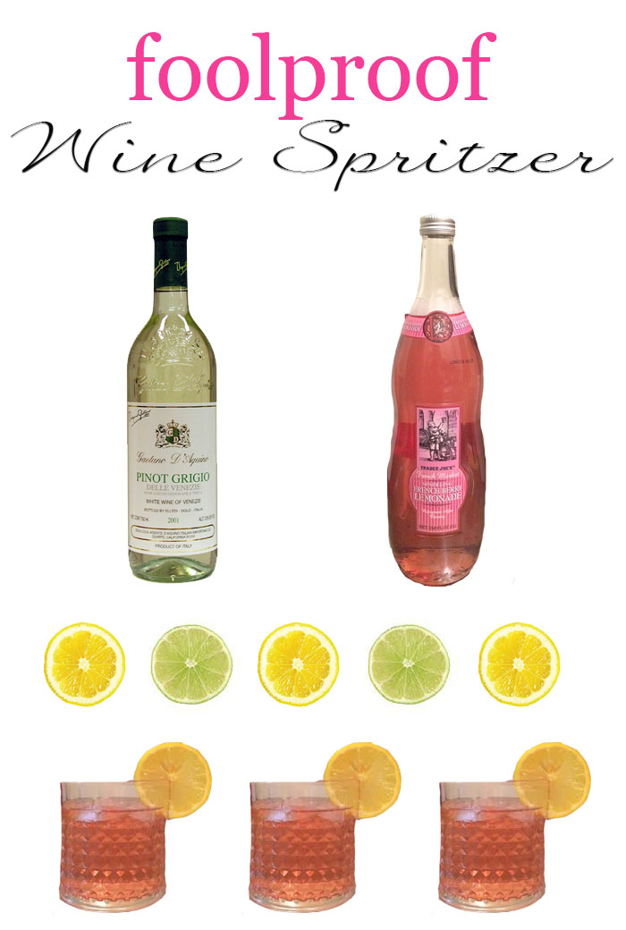 Foolproof Wine Spritzer - DC Girl in Pearls Life + Style Blog