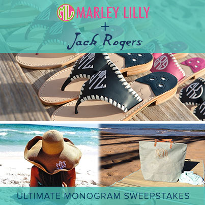 get vacation-ready with jack rogers + marley lilly!