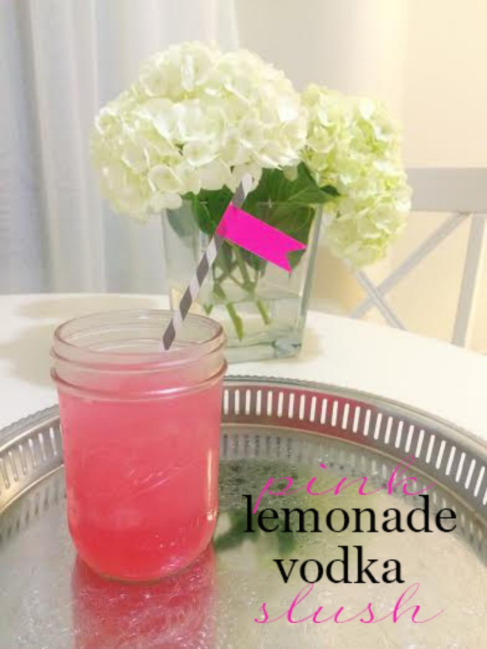 Lemonade Vodka Slush - DC Girl in Pearls Blog