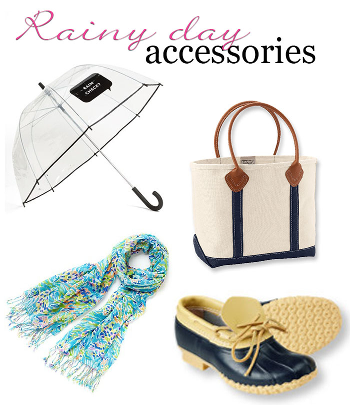 Rainy Day Accessories ft. LL Bean, Lilly Pulitzer + Kate Spade | DC Girl in Pearls Life + Style Blog