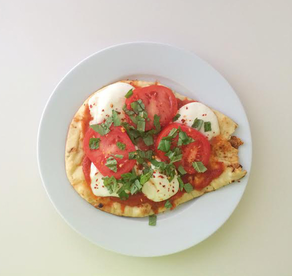Grilled Naan Pizza - DC Girl in Pearls Life + Style Blog