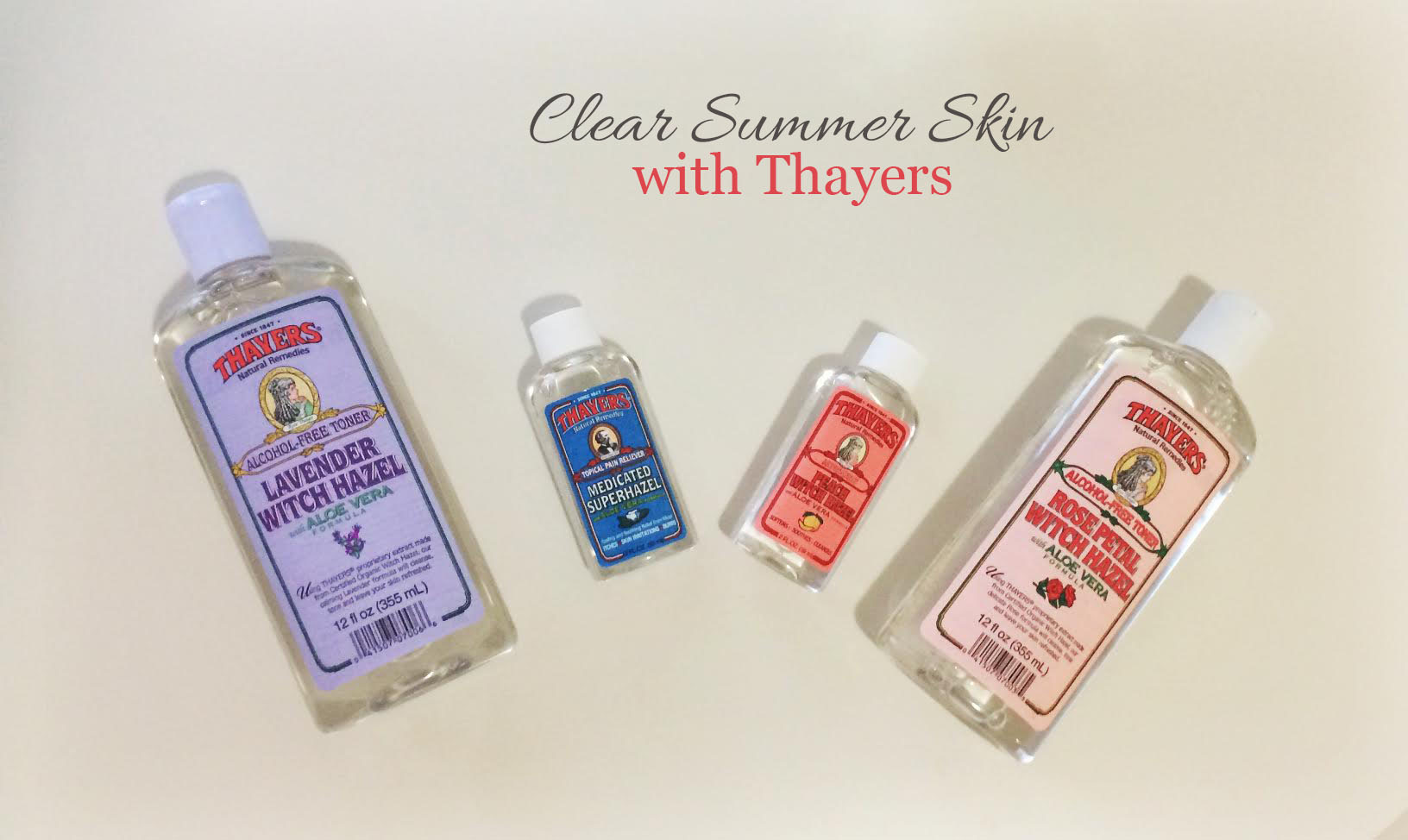 DC Girl in Pearls - How To Get Clear Summer Skin with Thayers
