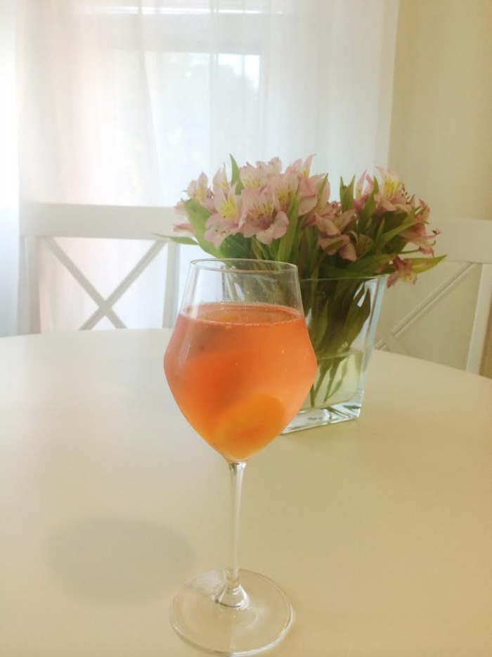 DC Girl in Pearls - Rosé Sangria Recipe