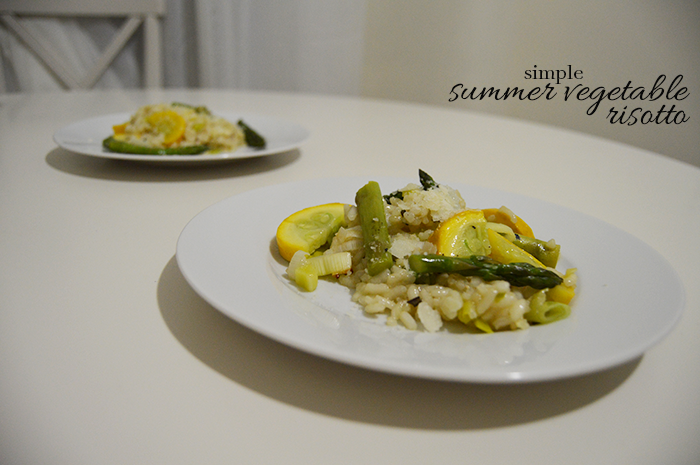 DC Girl in Pearls - Simple Summer Vegetable Risotto