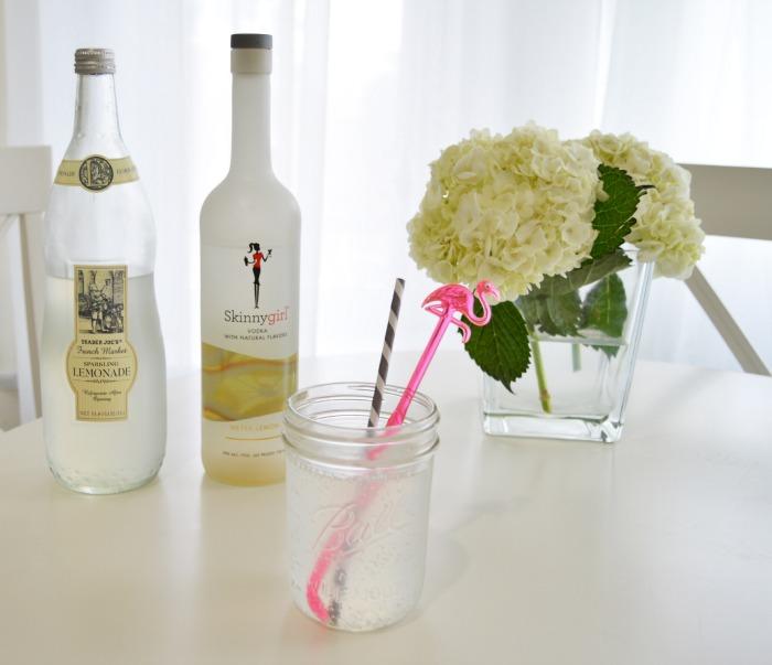Skinnygirl Vodka Lemonade Cocktail - DC Girl in Pearls