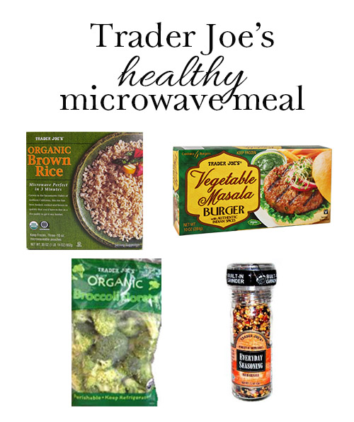 DC Girl in Pearls - Healthy Meal in the Microwave with Trader Joe's