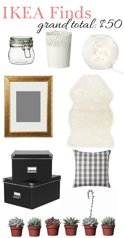 Ikea Decor Under $50 - DC Girl in Pearls