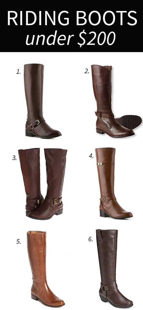 Fall Riding Boots Under $200 - DC Girl in Pearls