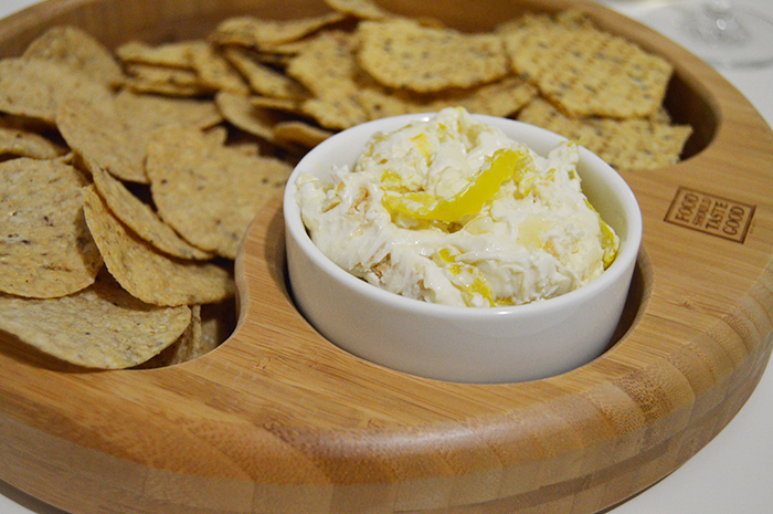 Stuffed Banana Pepper Dip - DC Girl in Pearls