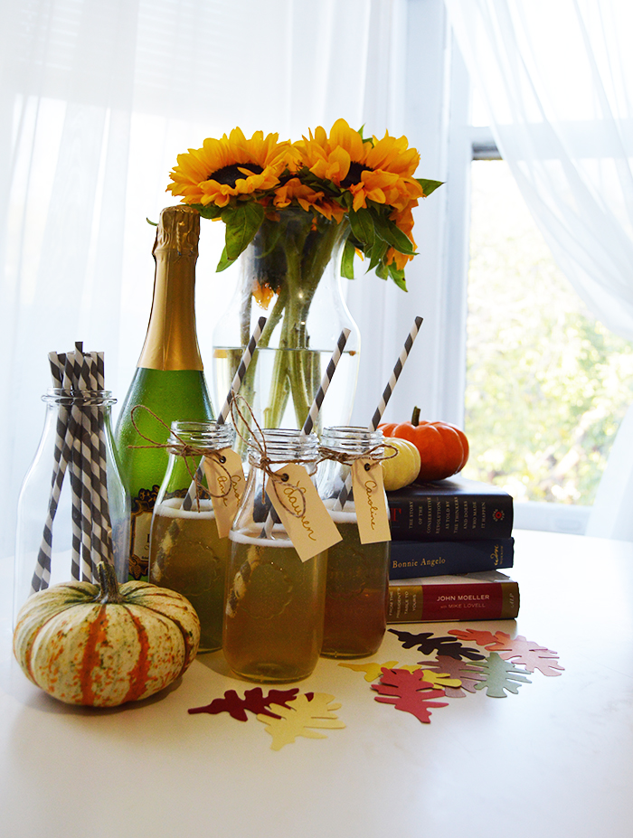 Apple Cider Mimosas - DC Girl in Pearls