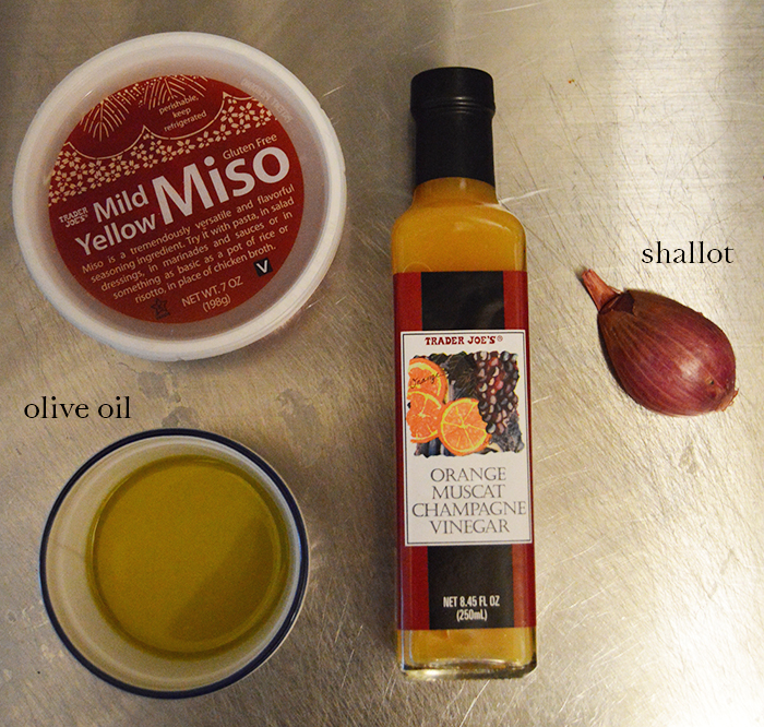 Citrus Miso Vinaigrette Recipe (All ingredients from Trader Joe's) - DC Girl in Pearls