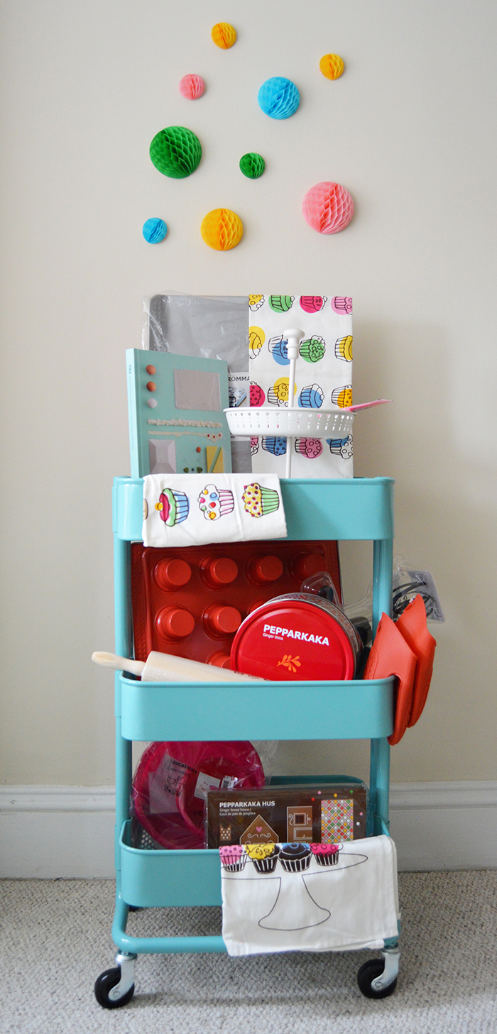 IKEA Cart + Baking Supplies Giveaway, perfect for Christmas cookie season - DC Girl in Pearls