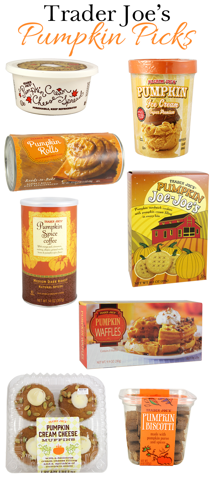 Trader Joe's Pumpkin Picks - DC Girl in Pearls