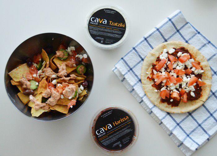 Cava Foods Harissa + Tzatziki create two tasty snacks to make for parties + drop-in guests! - DC Girl in Pearls