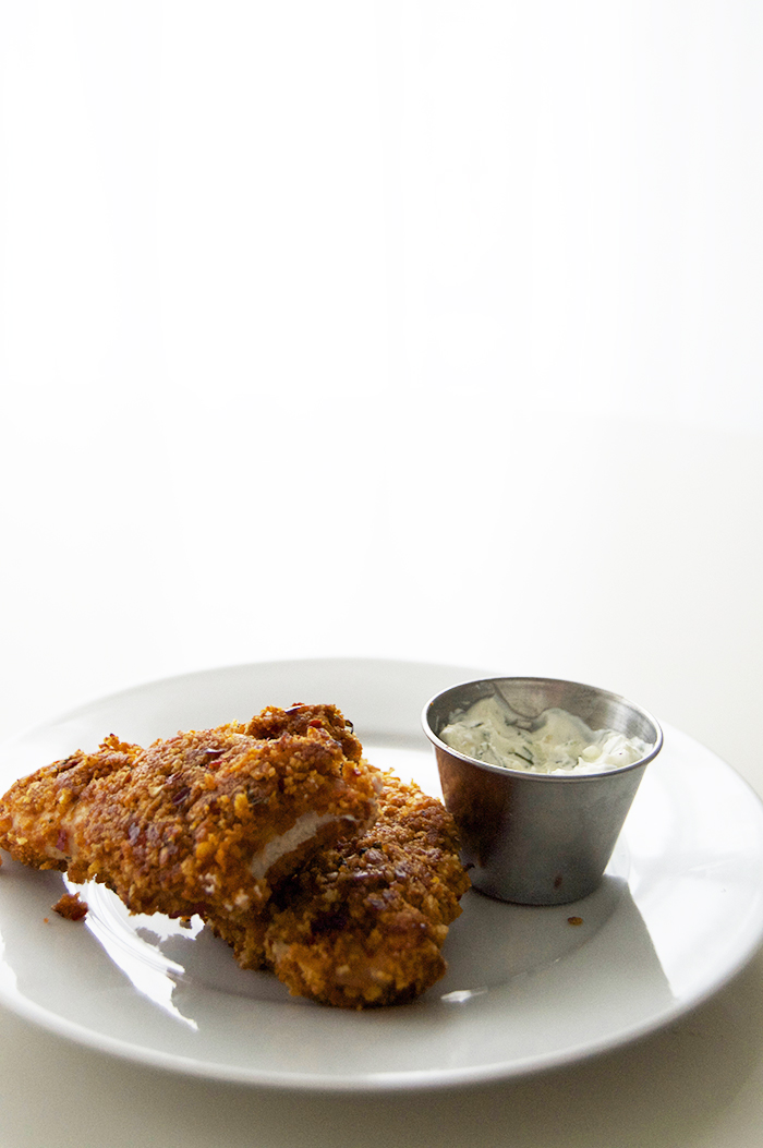 Cooking with Cava Foods: A Mediterranean twist on baked chicken fingers with tzatziki dipping sauce - DC Girl in Pearls