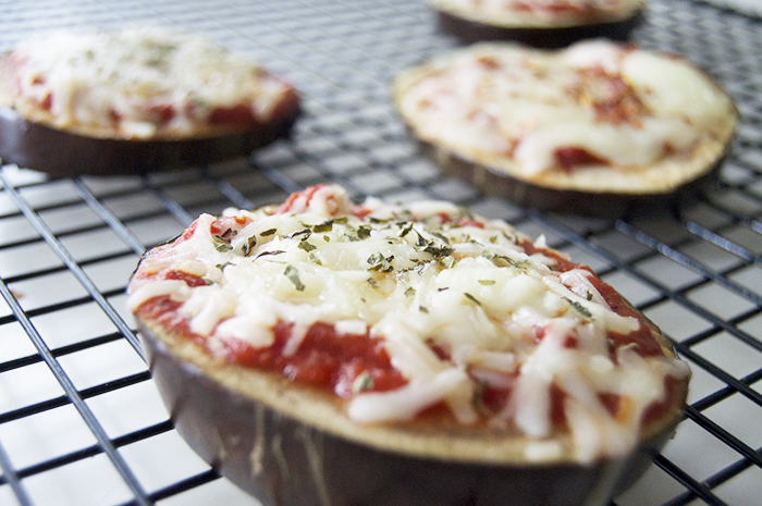 Margherita Eggplant Pizzas - DC Girl in Pearls
