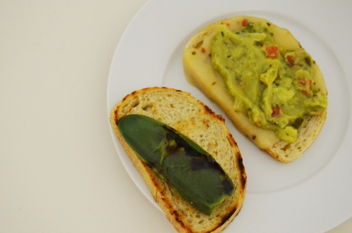 Jalapeño Guacamole Grilled Cheese - DC Girl in Pearls