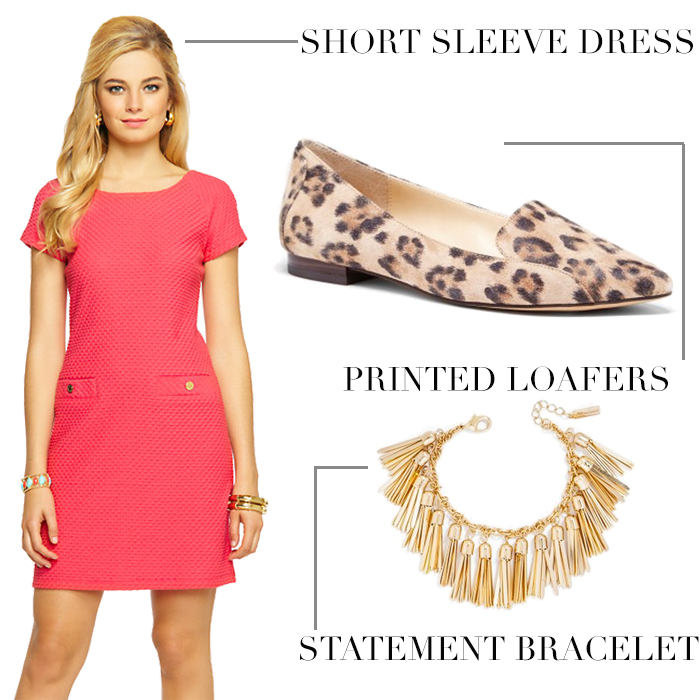How To Style Dresses for Work - DC Girl in Pearls