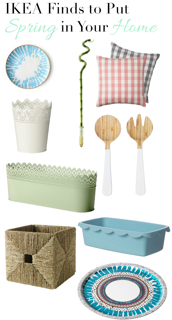 Favorite IKEA pieces that work doubletime for decor + organization | dcgirlinpearls.com