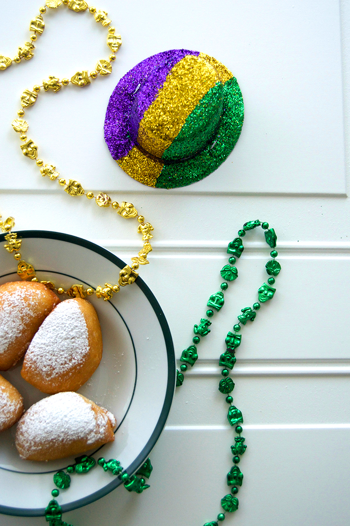 Just 3 ingredients to transport you to NOLA and give you a taste of Mardi Gras - DC Girl in Pearls