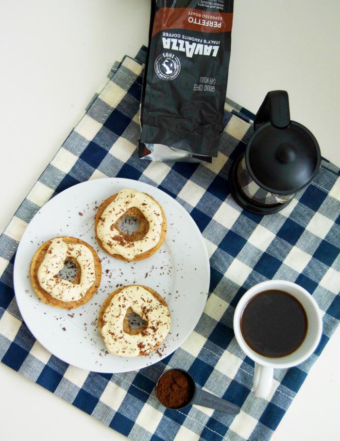 Tiramisu Doughnuts with Lavazza Coffee | dcgirlinpearls.com