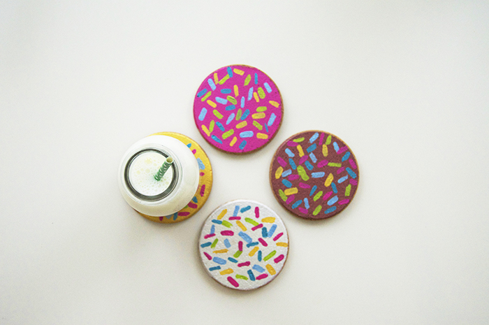 DIY Donut Cork Coasters | dcgirlinpearls.com