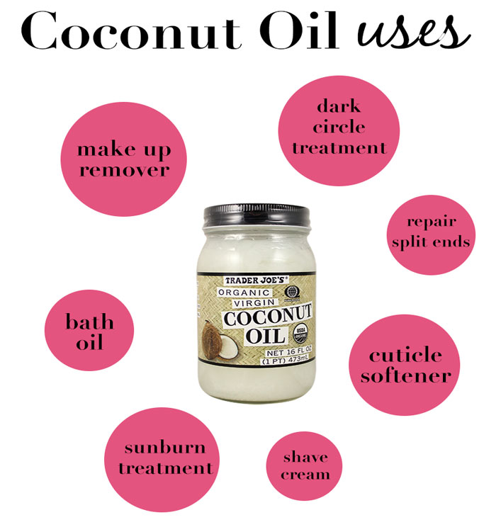 Coconut Oil is a #1 beauty product from hair to manis | dcgirlinpearls.com