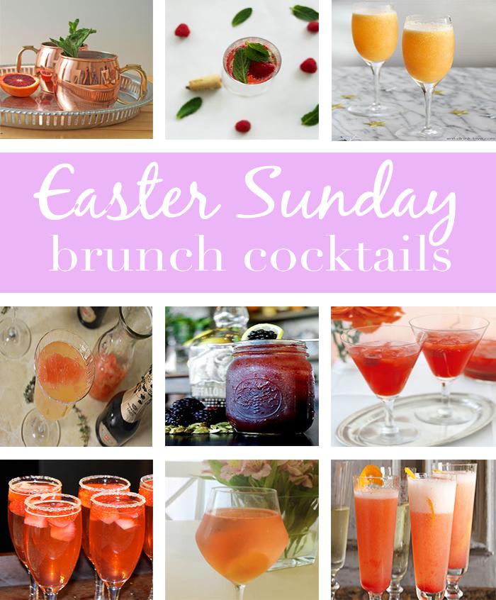 Easter Sunday Brunch Cocktails Roundup