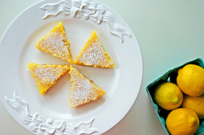Lemon Bars for Spring Parties | dcgirlinpearls.com