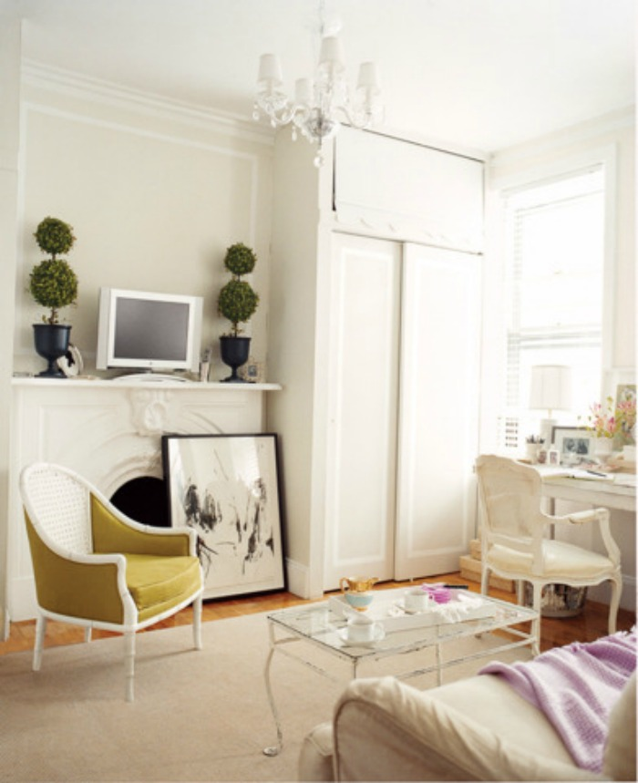 Small Space Living Ideas | dcgirlinpearls.com