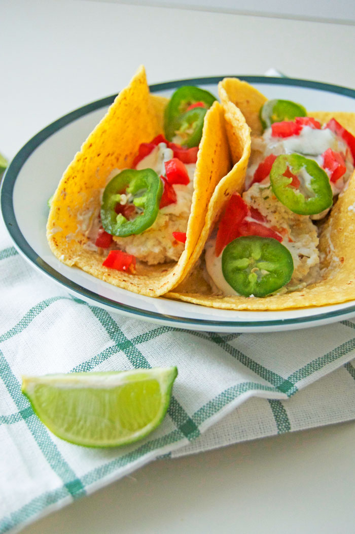 It's All Greek To Me Fish Tacos | dcgirlinpearls.com