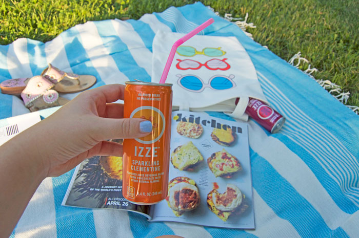 A relaxing weekend with IZZE | dcgirlinpearls.com