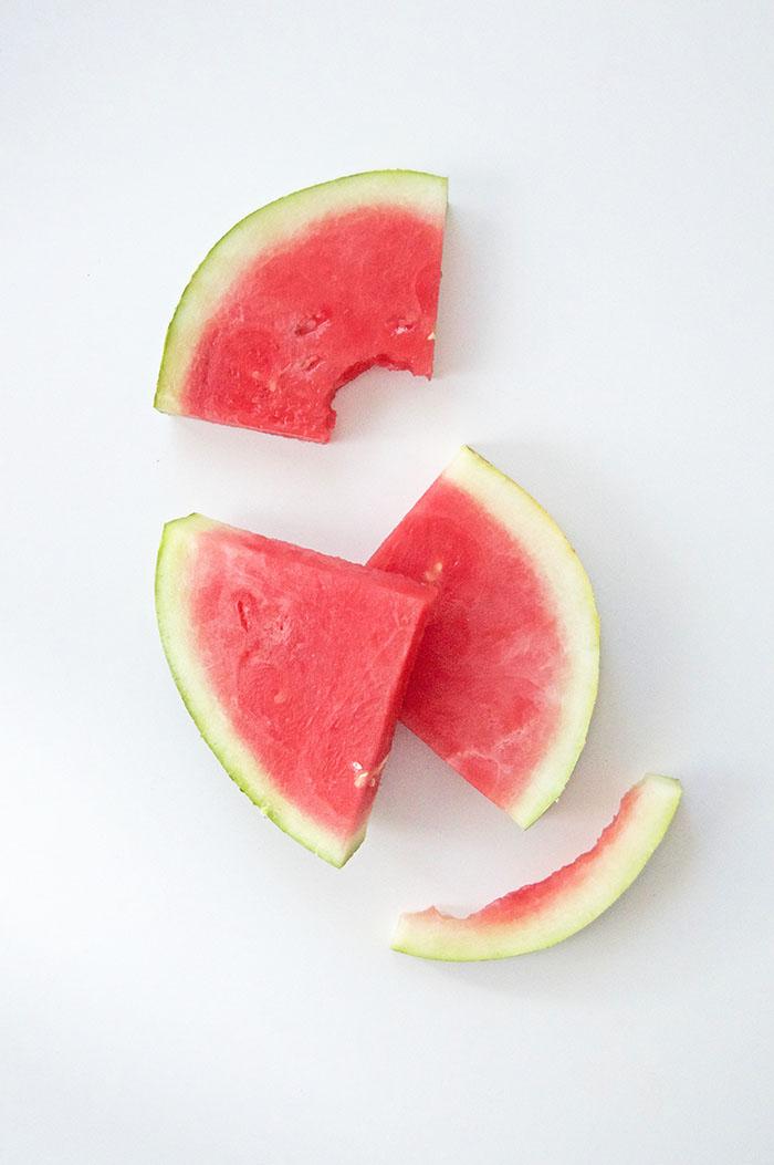 Grilled Watermelon, Burrata + Arugula Salad | dcgirlinpearls.com