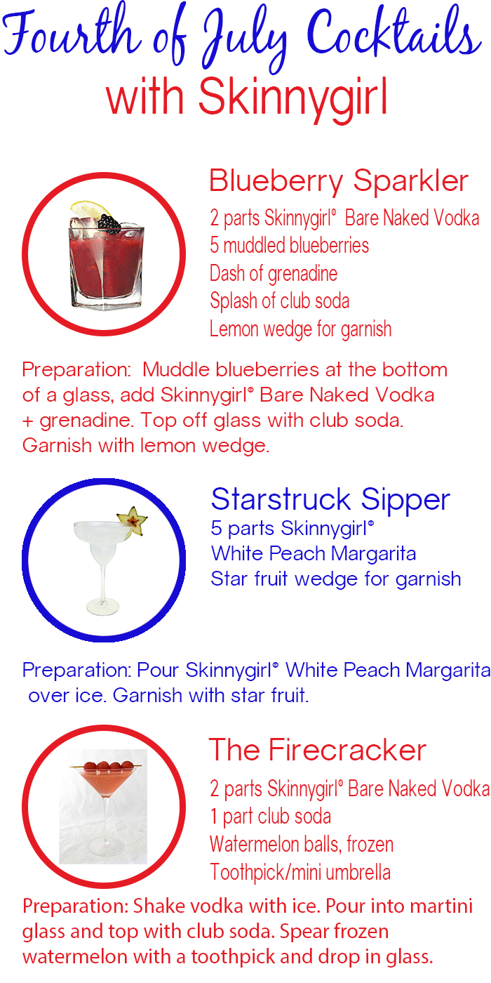 Fourth of July Cocktails with Skinnygirl | dcgirlinpearls.com