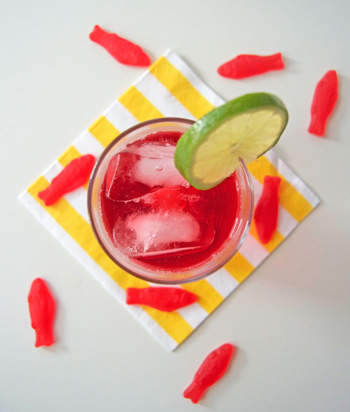Skinnygirl Shark Attack Cocktail | dcgirlinpearls.com