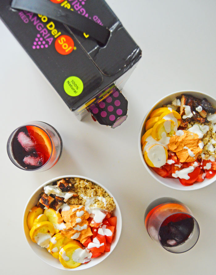 Beso Del Sangria - sangria ready in a box to take to an end-of-the-summer soiree! | dcgirlinpearls.com