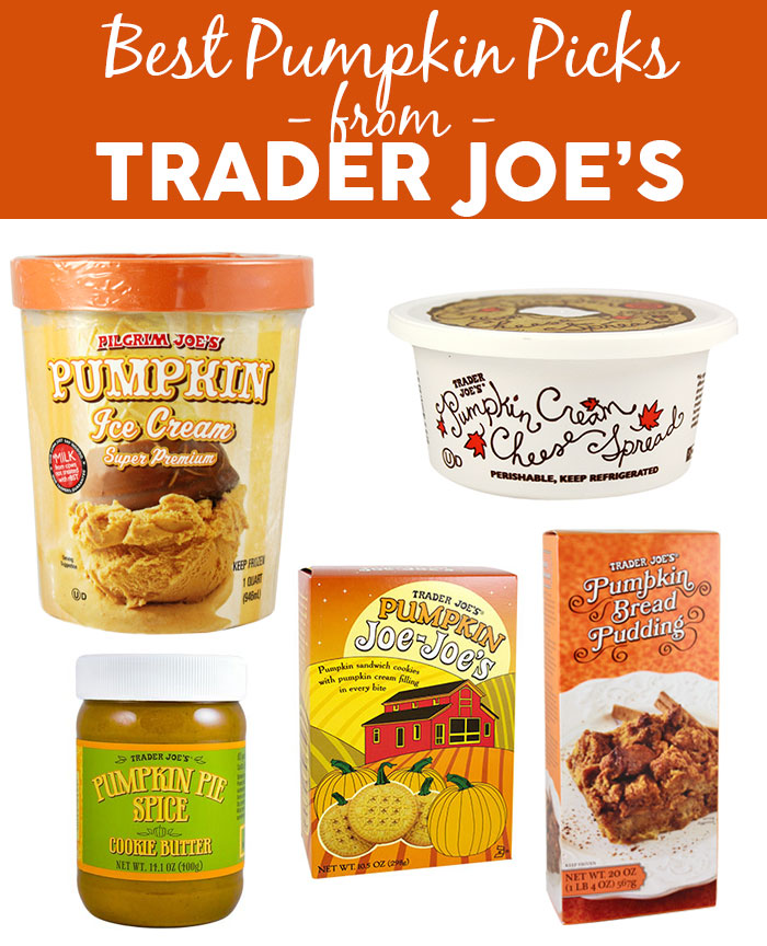 Best Pumpkin Picks from Trader Joe's - yes, I know they're all desserts ;) |dcgirlinpearls.com