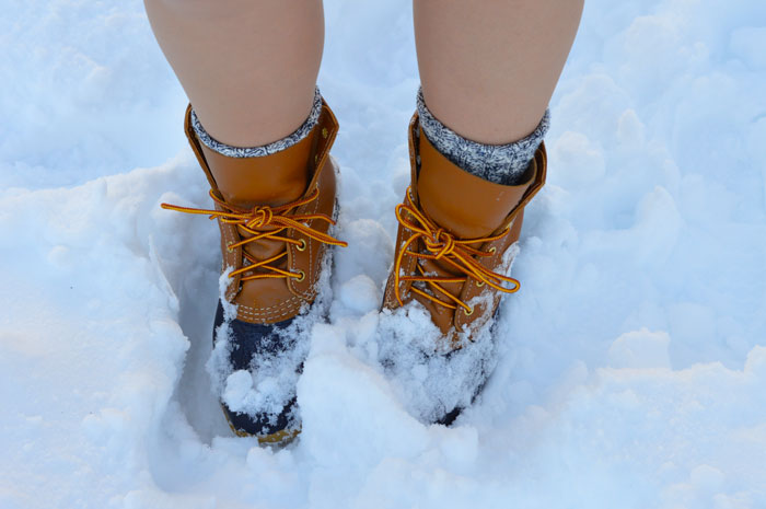 L.L. Bean Boots to brave the winter snow | dcgirlinpearls.com