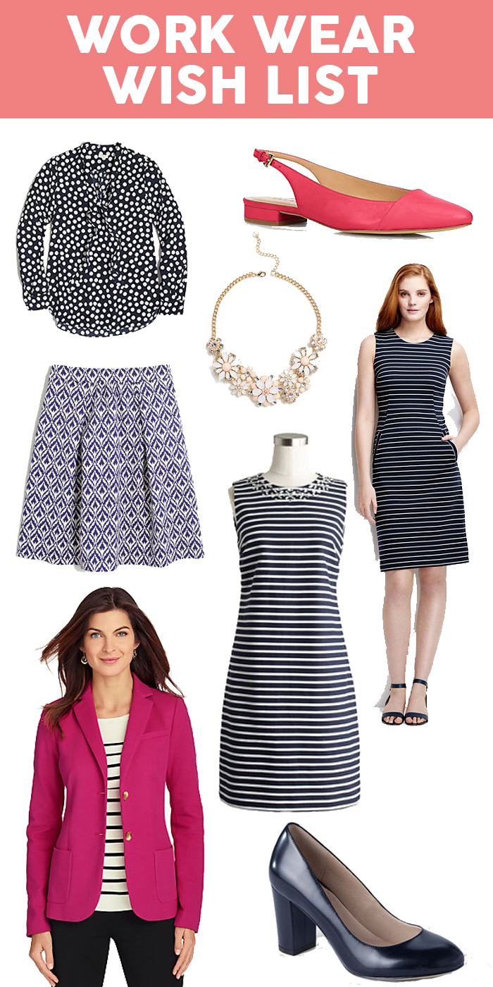 Spring 2016 Work Wear Wish List | dcgirlinpearls.com