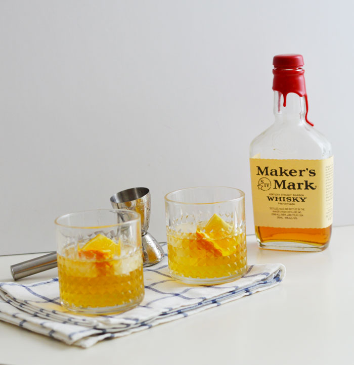 Tangerine Bourbon Spritz | dcgirlinpearls.com