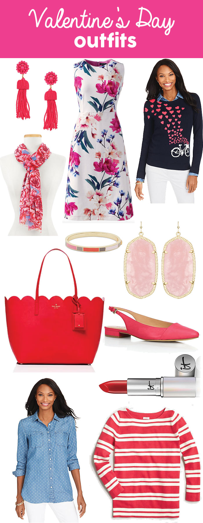 Valentine's Day Outfits | dcgirlinpearls.com